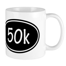 Black 50k Oval Mugs