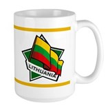 """Lithuania Star Flag"" Mug"