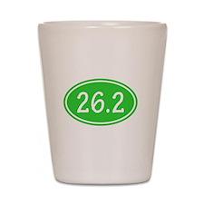 Lime 26.2 Oval Shot Glass