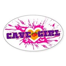 cave-girl Decal