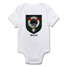 Macleod Clan Crest Tartan Infant Bodysuit