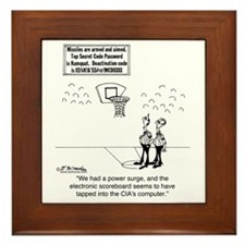 6625_basketball_cartoon Framed Tile
