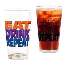 eatdrinkrepeat Drinking Glass