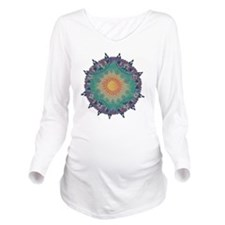 Pointy Lace sun Long Sleeve Maternity T-Shirt