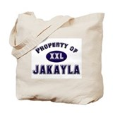 Property of jakayla Tote Bag