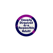 Cleverly disguised Mini Button (100 pack)