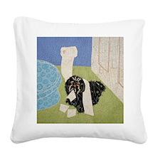bathroom_11x11 Square Canvas Pillow