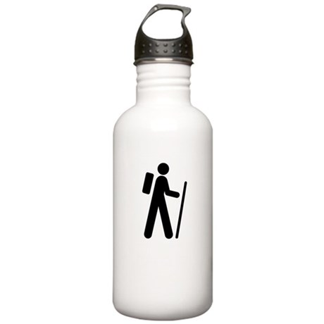 iCache White Stainless Water Bottle 1.0L