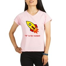 R is for rocket red Performance Dry T-Shirt