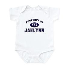 Property of jaelynn Infant Bodysuit