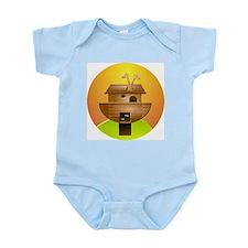 Noah's Ark Infant Creeper