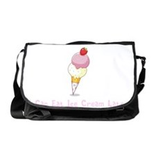 Running Ice Cream BS Messenger Bag