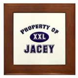 Property of jacey Framed Tile