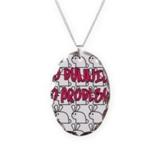 mo bunnies mo problems Necklace