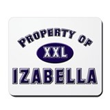 Property of izabella Mousepad