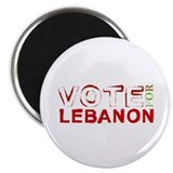 "Vote for Lebanon 2.25"" Magnet (100 pack)"