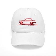 61-68 Herald_red Baseball Cap
