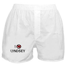 I Hate LYNDSEY Boxer Shorts