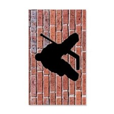 Brick Wall Hockey Goalie Decal Wall Sticker