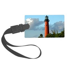 Jupiter Lighthouse Paint Effect Luggage Tag