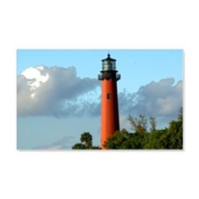 Jupiter Lighthouse Paint Effect Wall Decal