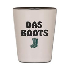 DAS BOOTS Shot Glass