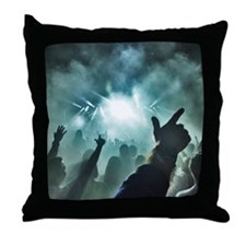 Pointtothesky large Throw Pillow