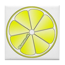 Citronsaft Tile Coaster