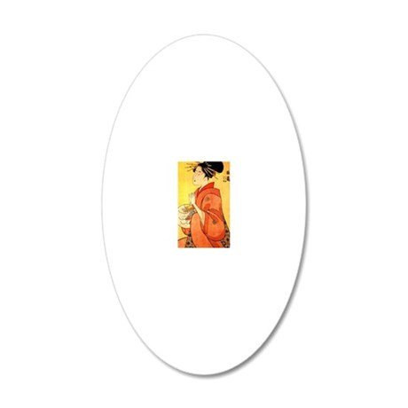 012063 20x12 Oval Wall Decal