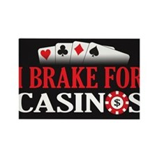 5x3breakcasino Rectangle Magnet