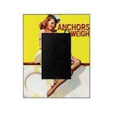 anchors aweigh yellow mousepad Picture Frame