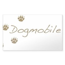 dogmobile Decal