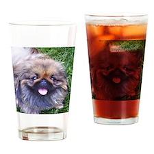 RoundOrnamentHoppi Drinking Glass