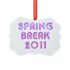 Spring Break Ornament