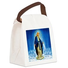 MilagrosaWoodZazzle Canvas Lunch Bag