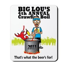 Big Lou 2011 Mousepad