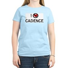I Hate CADENCE Women's Pink T-Shirt