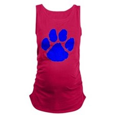 pawprint Maternity Tank Top