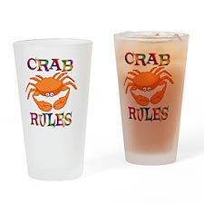 rulecrab Drinking Glass
