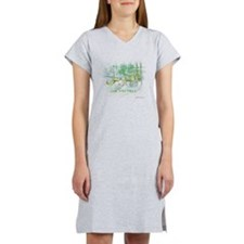 Al-Quddus_smallwhite Women's Nightshirt