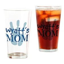 WyattMomSQ Drinking Glass