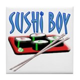 Sushi Boy2 Tile Coaster