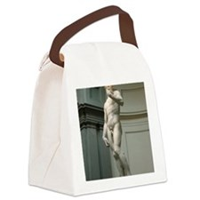 The-David Canvas Lunch Bag