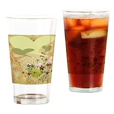 BIRDIETEMPLATEORANGEE Drinking Glass