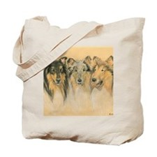 Collie Adults Tote Bag