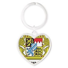 bavaria_large Heart Keychain