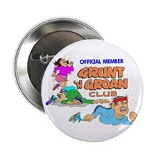 Grunt 'N Groan Club Button