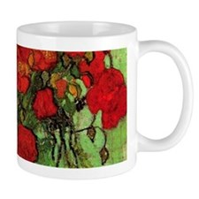 Van Gogh Poppies Wraparound Mug