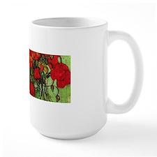 Van Gogh Poppies Wraparound Ceramic Mugs