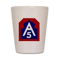 5th Army - North - USARNORTH Shot Glass
